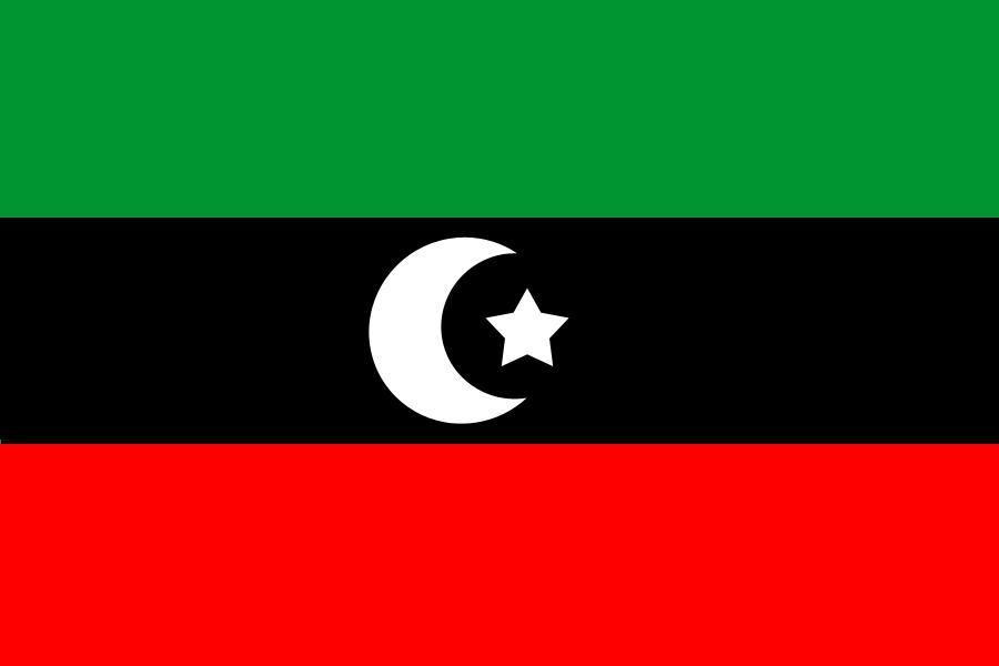 リビア Flag
