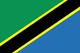 タンザニア Flag
